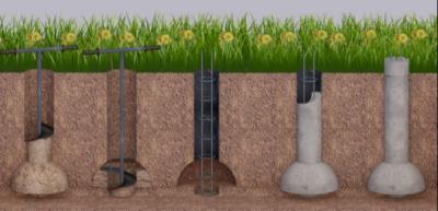 Что нужно знать о блоках для столбов забора: материал, форма и монтаж