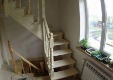 Строительство деревянной лестницы на второй этаж своими руками в частном доме: 27 фото с примерами работ