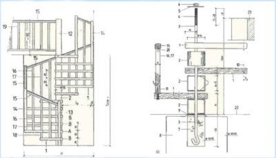 Строительство винтовой лестницы своими руками и 15 фото с примерами и этапами работ