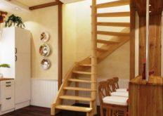 Модели компактных лестниц на второй этаж – отличительные черты, какие бывают, как выбрать?