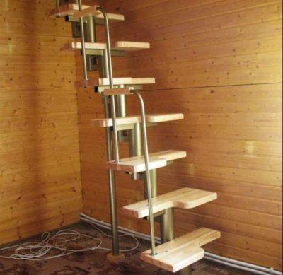 Выполнение расчетов для строительства лестниц на второй этаж: 19 фото с примерами и этапами работ