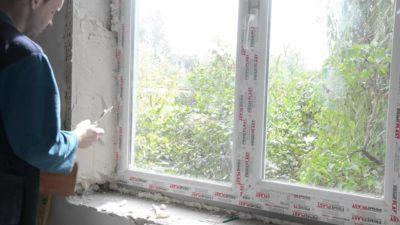 Шпатлевка для откосов окон