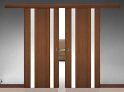 Межкомнатные выдвижные двери фото