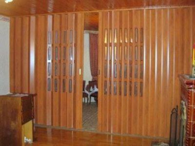 Дверь гармошка длиной 3 м