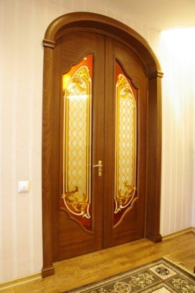 Арочные межкомнатные двери стоимость
