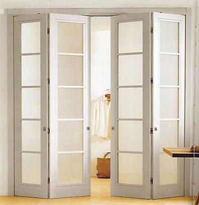 Белые двери-книжка
