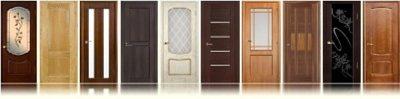 Дверные полотна от магазина «5 дверей»