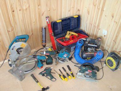 Инструменты, которые нужны для проведения работ