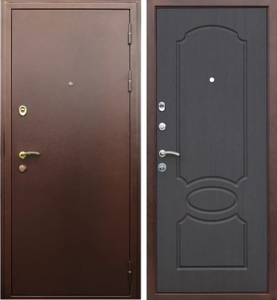 Сибирские двери для входа в офисное помещение