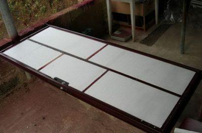 Внутренняя поверхность дверного полотна
