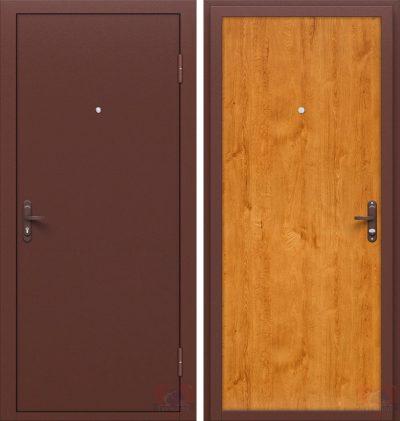 Один из возможных вариантов дверной входной конструкции