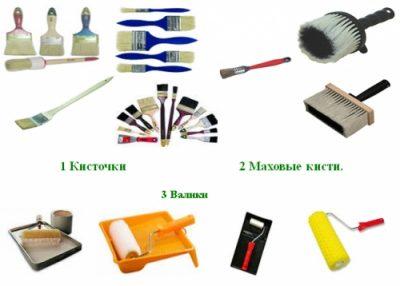 Материалы, которые пригодятся для покраски двери своими руками