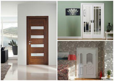 Типы деревянных дверей