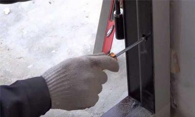 Крепление дверей на анкеры