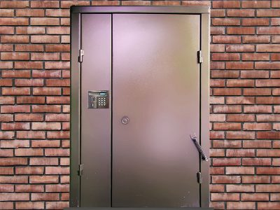 Входные двери с домофоном