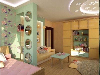 Вариант для детской спальни