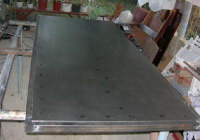 Очистка металлической поверхности