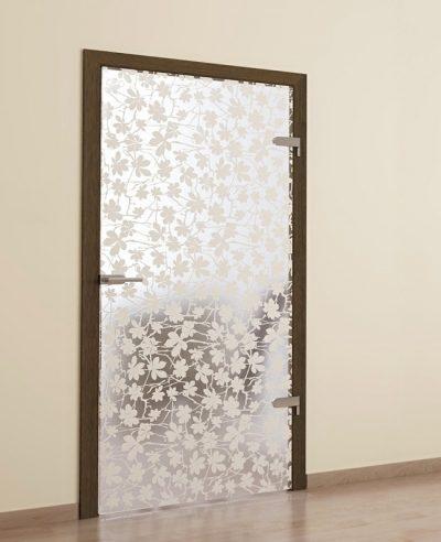 Как сделать стеклянную дверь своими руками