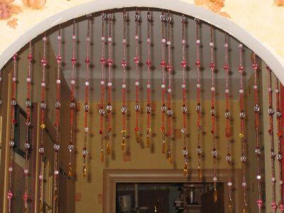 На фото украшение проёма верёвочного типа