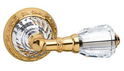 Дверная ручка с кристаллом Сваровски
