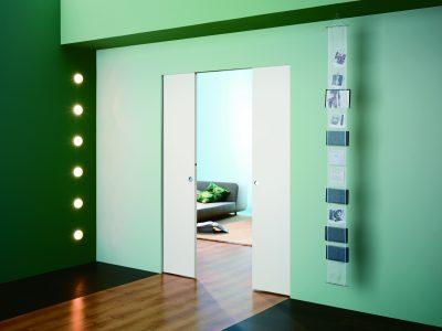 Дверная кассета или дверь-пенал для интерьера в современном стиле