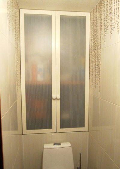 Дверцы из стекла в алюминиевом профиле