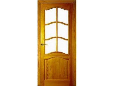 Межкомнатная дверь с лакированной поверхностью