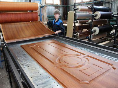 Производственный процесс отделки