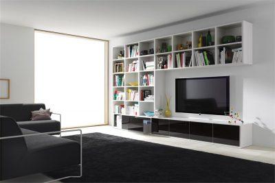 Стенная ниша под телевизор и дополнительное оборудование