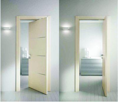 Межкомнатные поворотные двери, фото