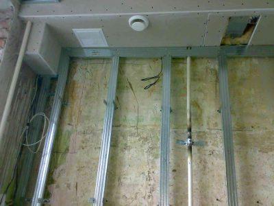 Скрытие труб в установке