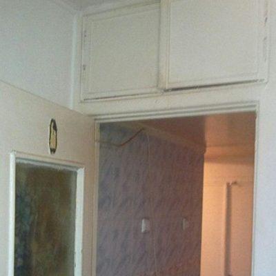 Старая дверная коробка на кухню в хрущевке