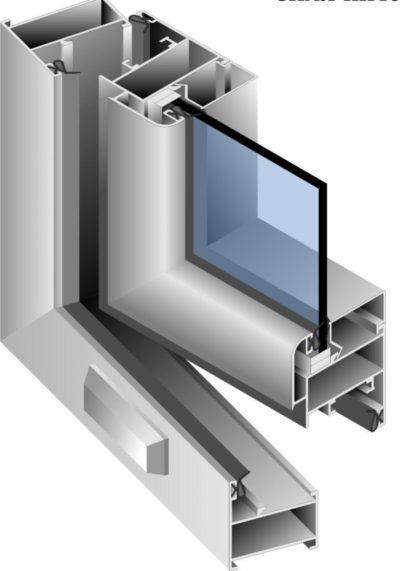 Холодный профиль для дверных конструкций