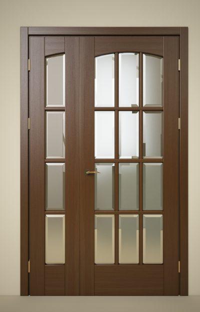 Полуторная межкомнатная дверь, фото