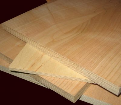 ДСП плита, покрытая натуральным шпоном