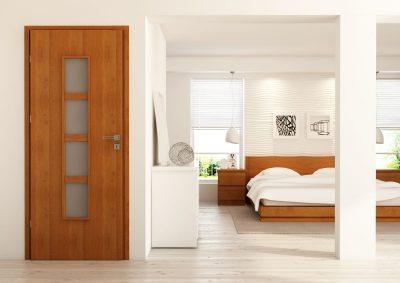 Роскошный вариант дверной конструкции, которая не нуждается в доработках