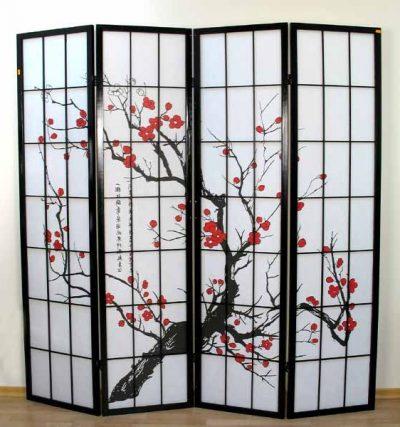 Перегородка в традиционном японском стиле