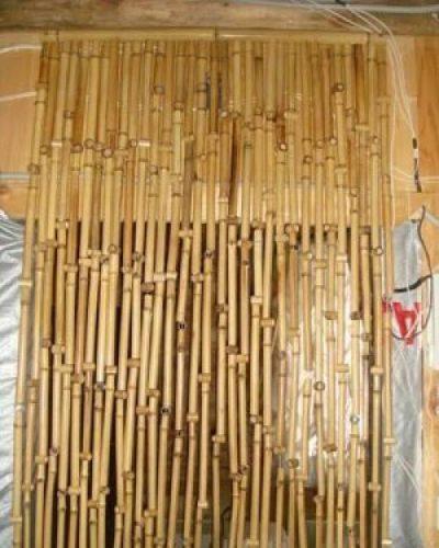 Модель из деревянных элементов
