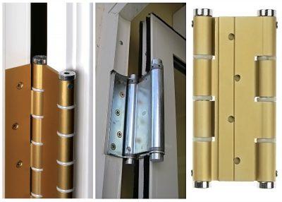 Как закрепить пружину на дверь — Портал о стройке