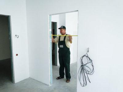 Подготовка проема под раздвижные межкомнатные двери