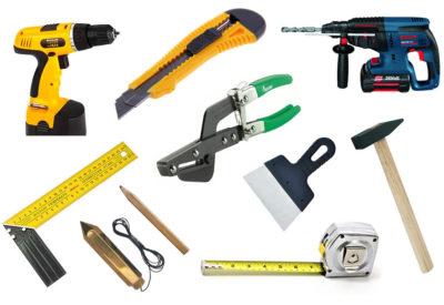 Набор инструментов для сборки перегородки