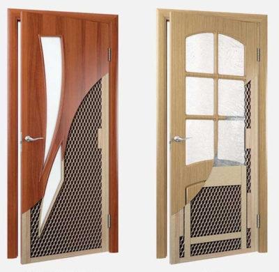 Примеры щитовой двери