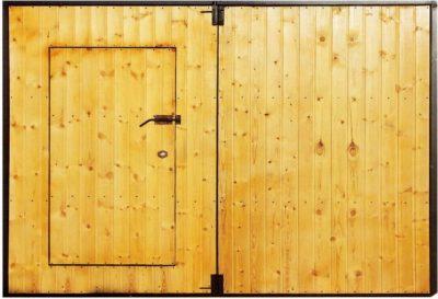 Пример деревянной облицовки