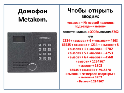 Комбинация кодов