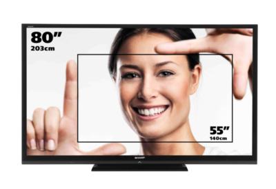 Размер телевизора